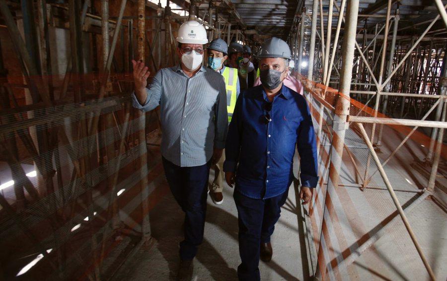 Rogério Marinho visita obras da Linha Leste do Metrô e garante R$ 660,8 mi