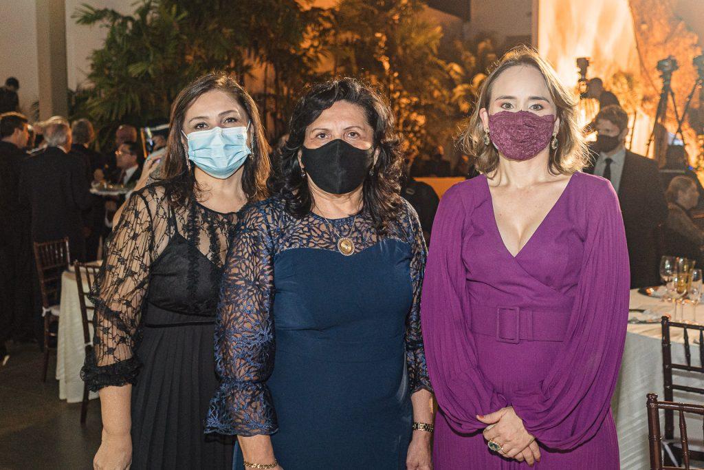 Rosangela Cavalcante, Nailde Pinheiro E Fernanda Pacobayba