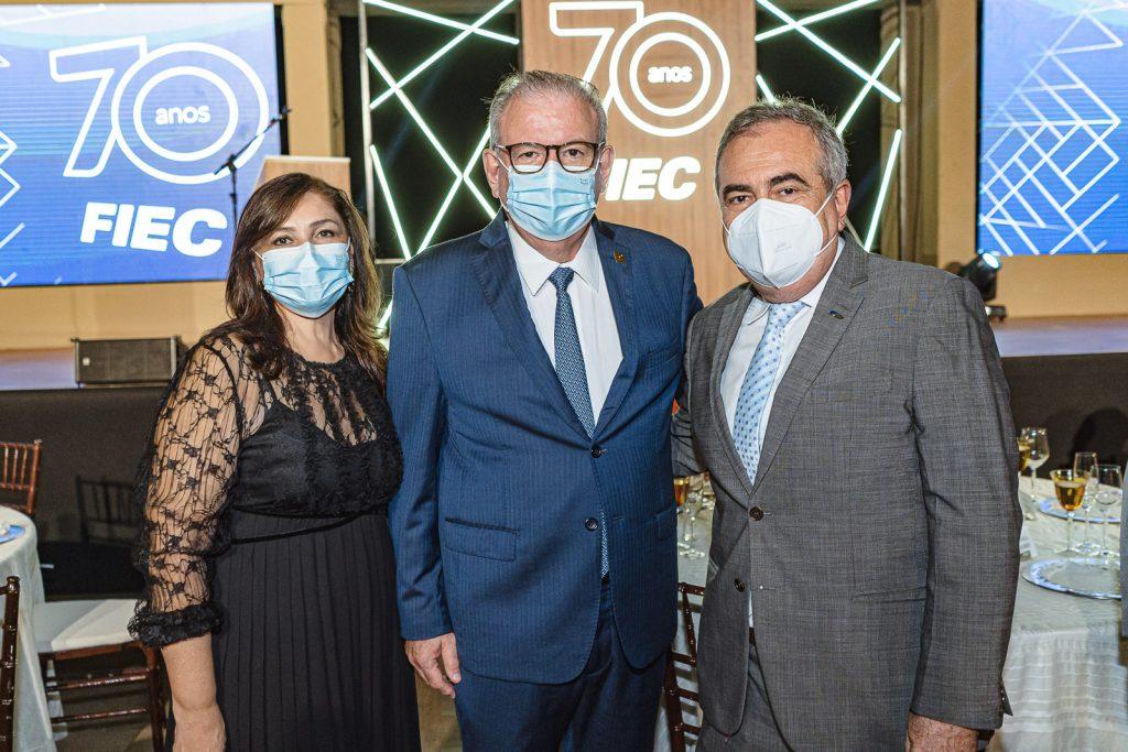 Rosangela Cavalcante, Ricardo Cavalcante E Assis Cavalcante