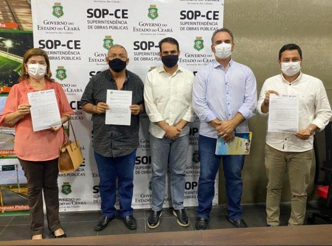 Salmito obtém a inclusão de mais quatro cidades do Ceará no programa Sinalize