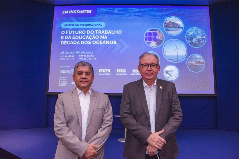Seminário Internacional - Evento promovido pela FIEC debate a exploração sustentável dos recursos dos oceanos
