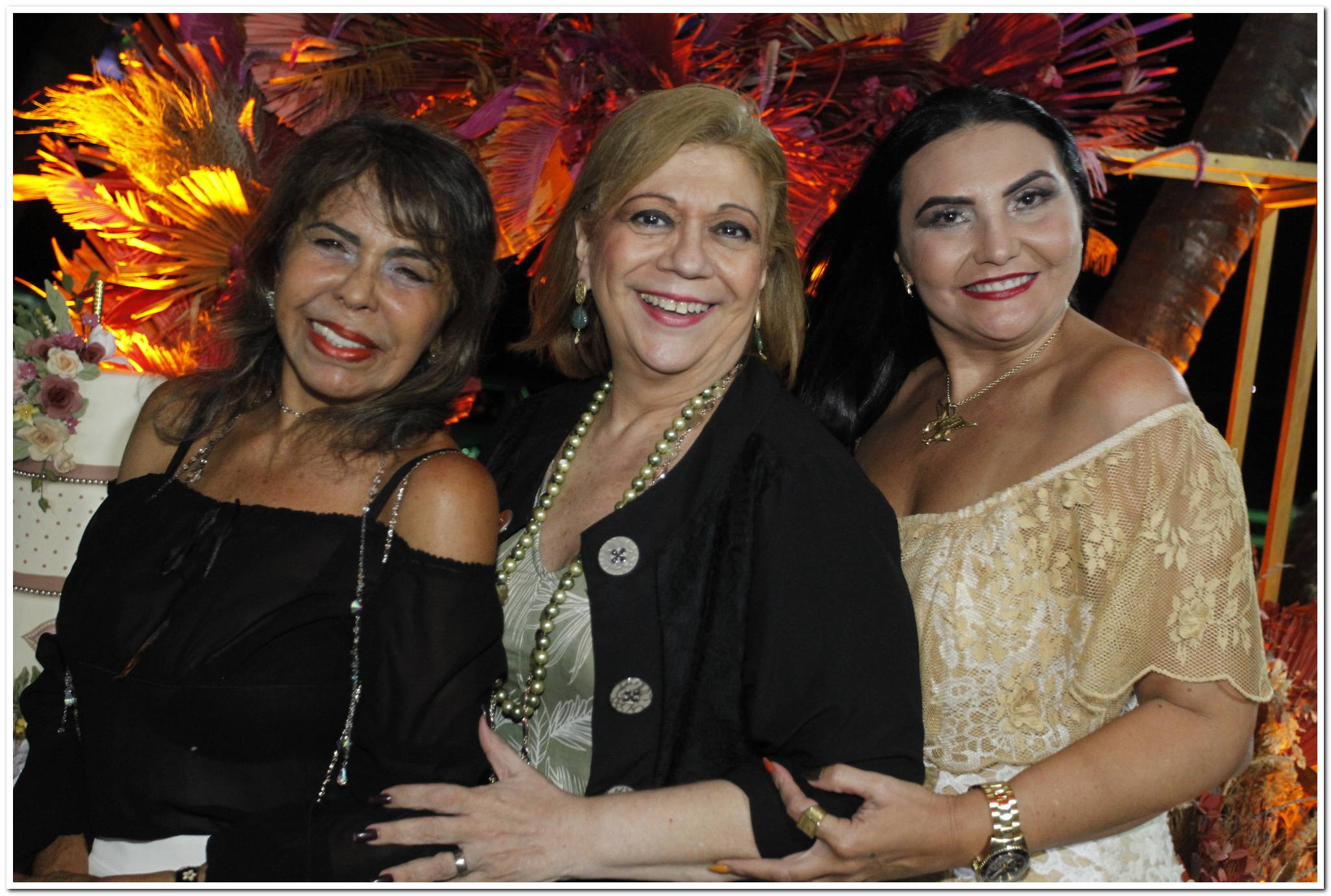 Selma Cabral, Priscila Cavalcanti E Zeilma Loiola