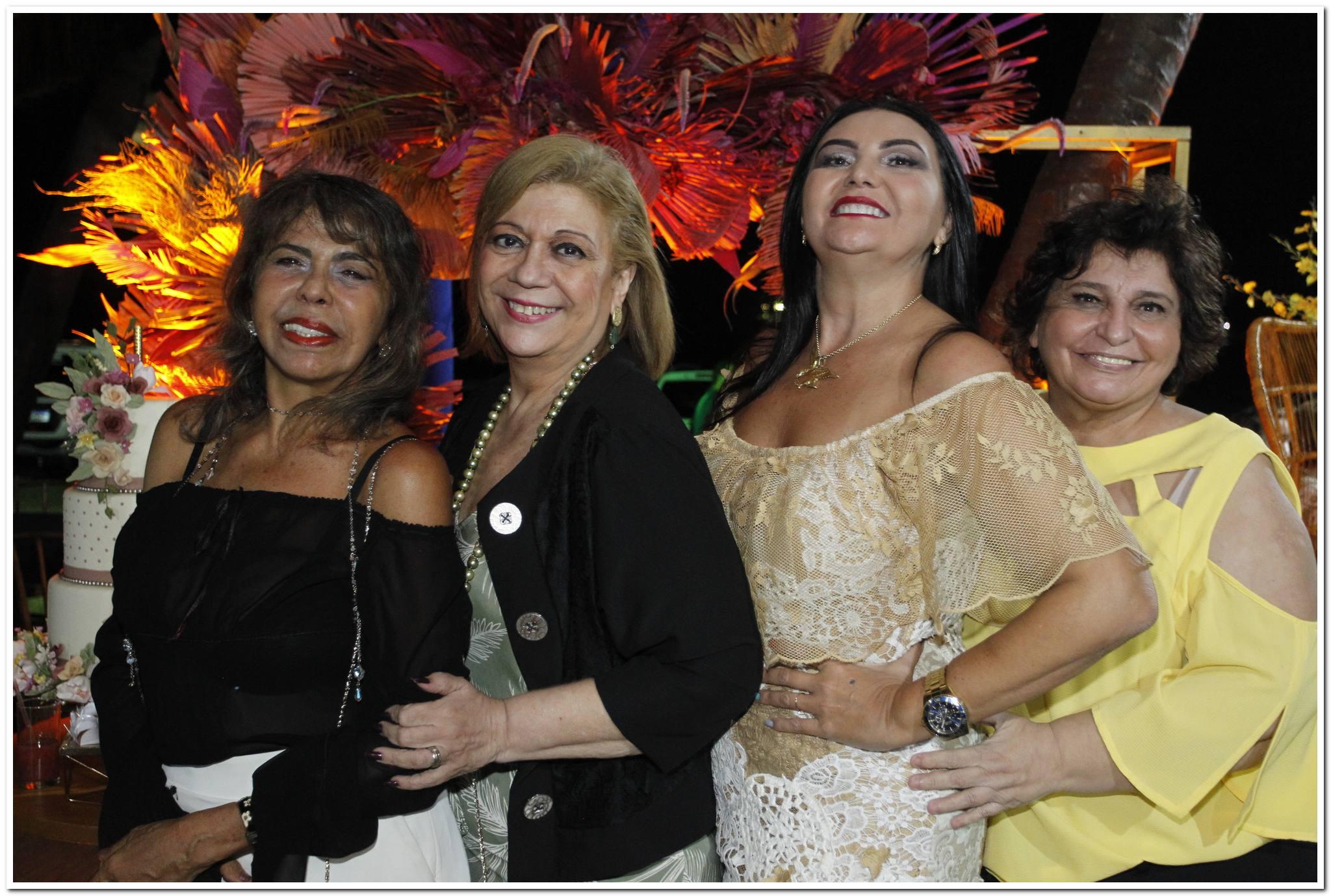 Selma Cabral, Priscila Cavalcanti, Zeilma Loiola E Socorro Trindade