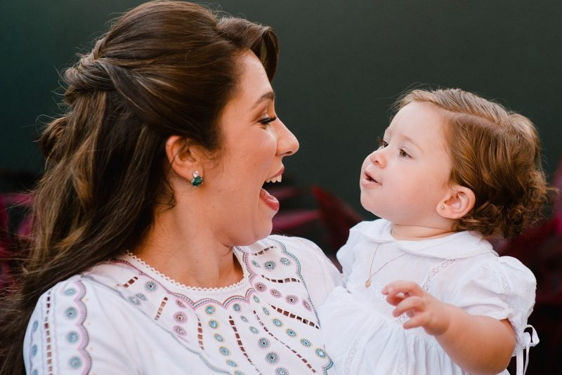 Batismo e aniversário - Maria Alice e Roberto Lincoln batizam Serena e festejam o primeiro aninho da herdeira