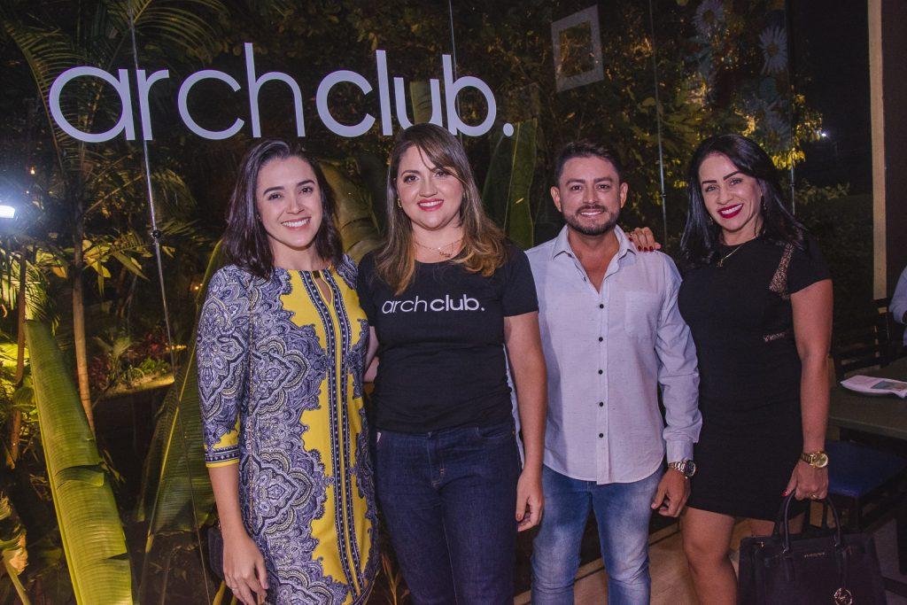 Tarcia Costa, Adriele Fidelez, Alessandro Maia E Kelvia Saraiva