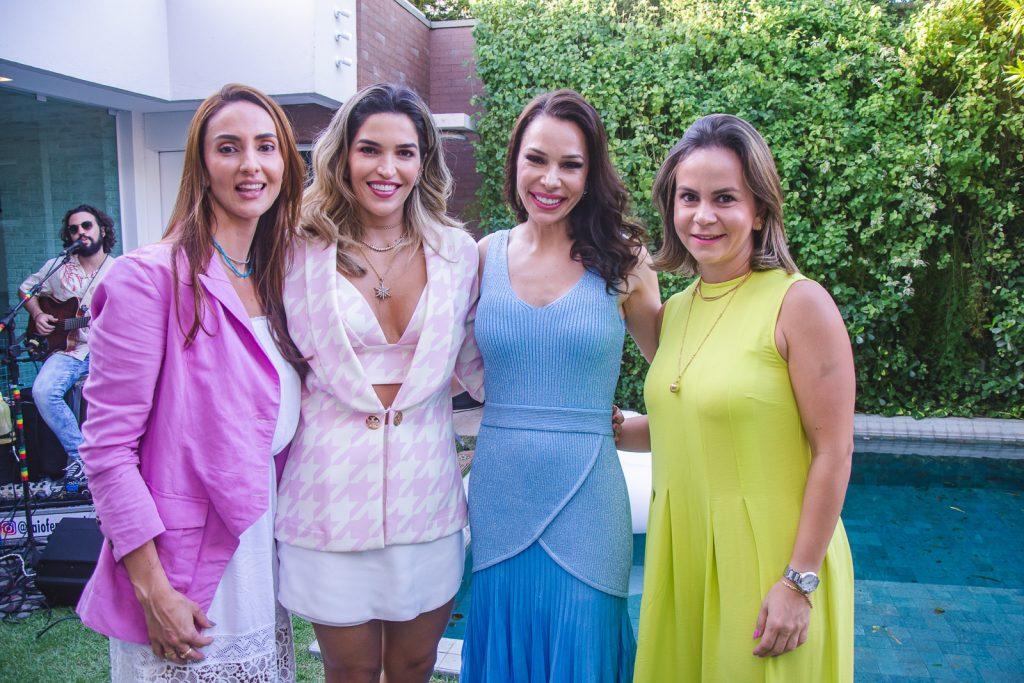 Vanuce Meireles, Ludimila Carneiro, Lorena Gondim E Maria Tereza Negreiros