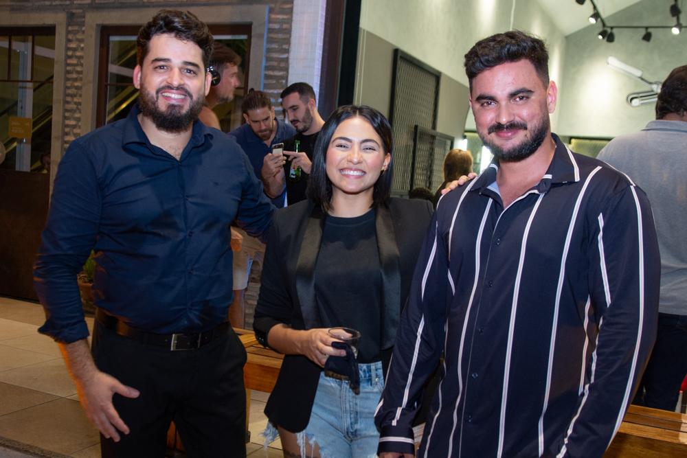 Veridiano Júnior, Natane Riberiro E Luan Vieira