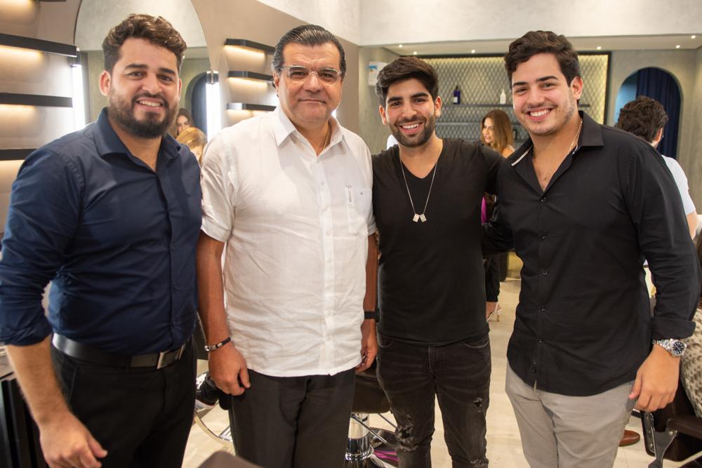Veridiano Júnior, Odmar Feitosa, Deib Otoch Neto E Felipe Pinto