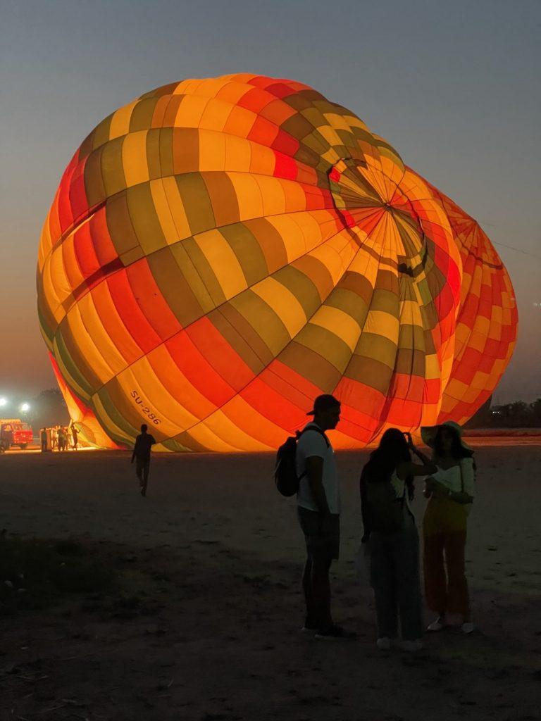 Viagem Ao Egito Balloon Ride Over Valleys Of The King & Queens