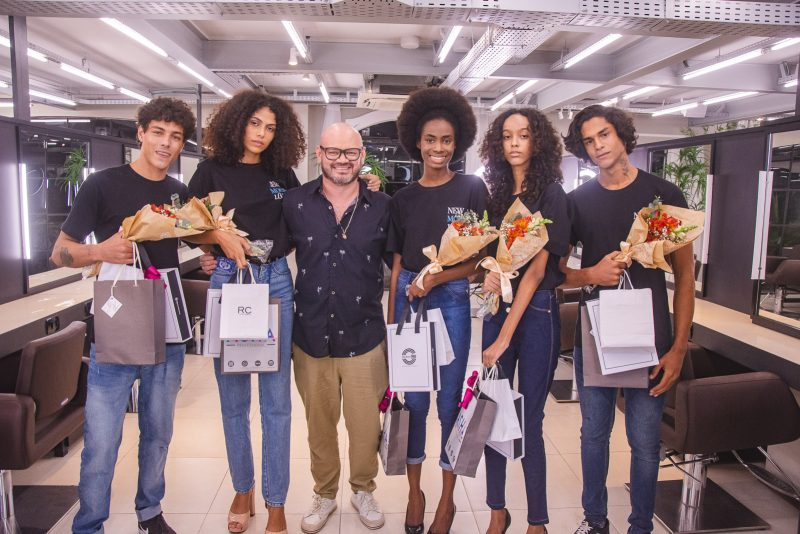 Vicente Di Ciero, Samara Silva, Romualdo Cassiano, Iguaracy Reis, Isabelle Cristinne E Kevinson Soares