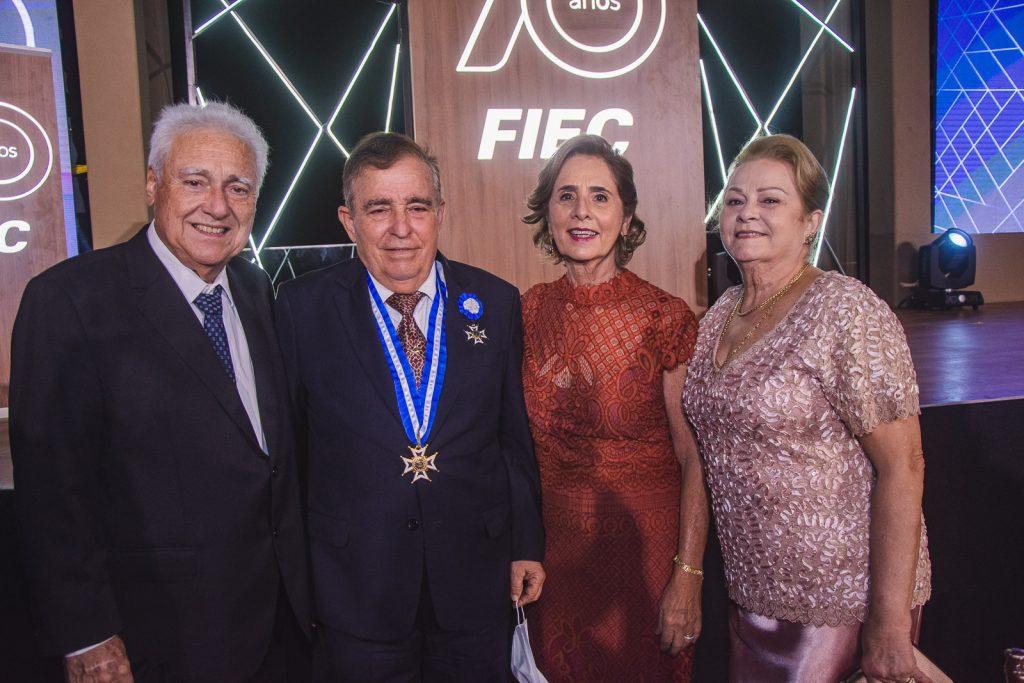 Waldyr Diogo, Claudio Targino, Zena Targino E Helena Diogo