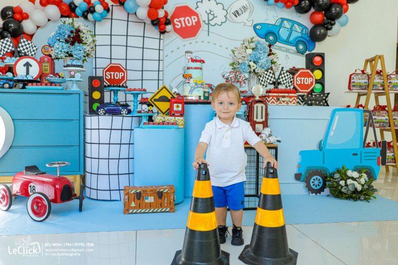 RÁ-TIM-BUM - Com muita diversão e alegria, Mark e Renata Viana festejam o segundo aniversário de Benjamin