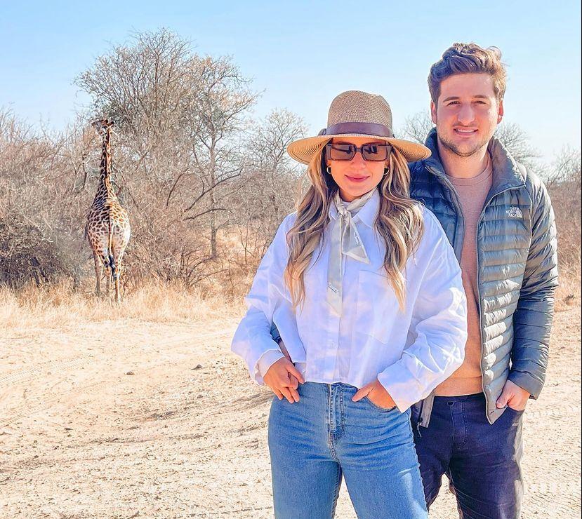 Fernanda Levy e Omar Macêdo desbravam as belezas da África do Sul
