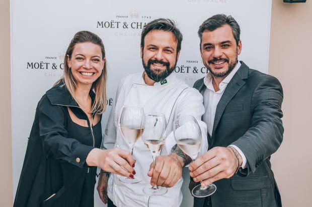 Moët & Chandon realiza almoço especial para comemorar o Dia do Sommelier