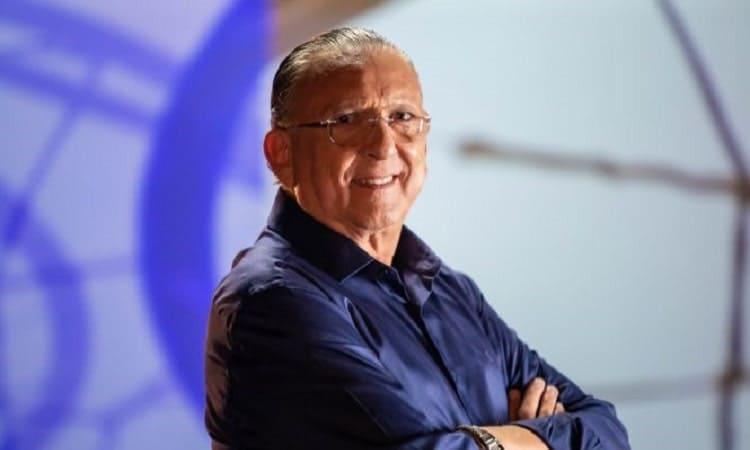 Galvão Bueno estreia como professor e ensina técnicas de comunicação