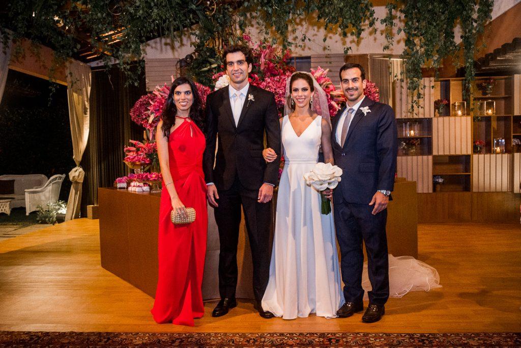 Alessandra Rolim, Raphael Nogueira, Manuela Rolim E Reno Bertosi