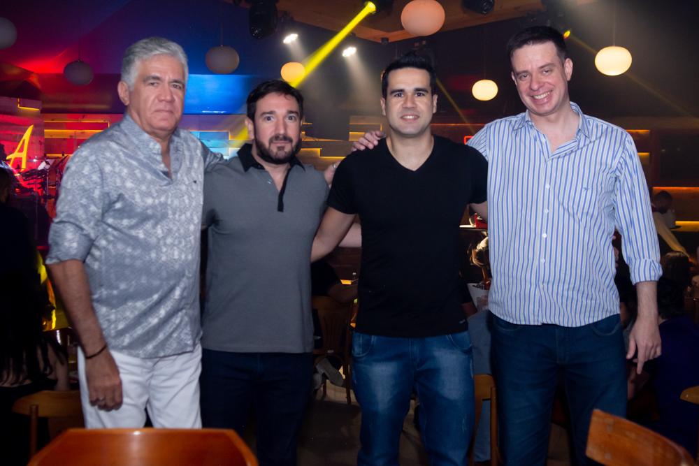 Alfredo Pearce, Márcio Batista, Lucas Pearce E Edson Nobrega