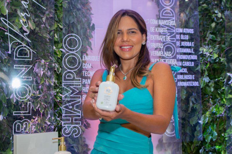 Lançamento - Ana Carolina Fontenele e Antônio Felipe apresentam ao público a linha Blond Therapy by Two Design