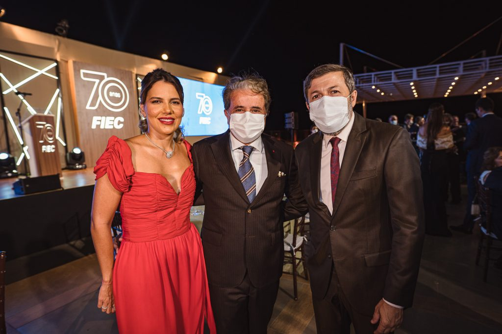 Ana Carolina Fontenele, Ivan Bezerra E Elcio Batista