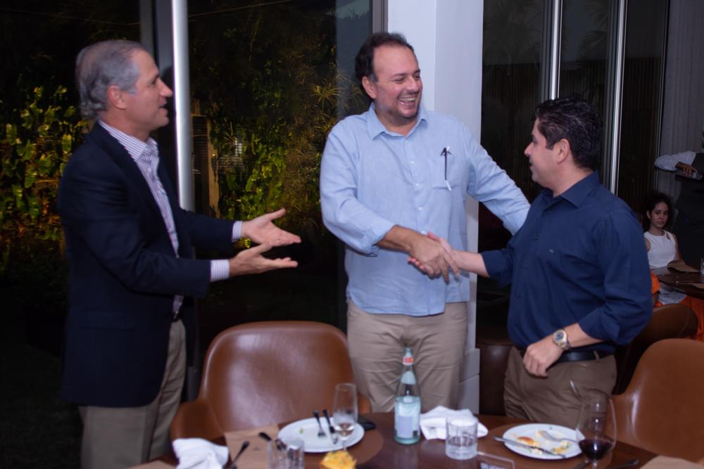 André Bichucher, Adriano Nogueira E Pompeu Vasconcelos