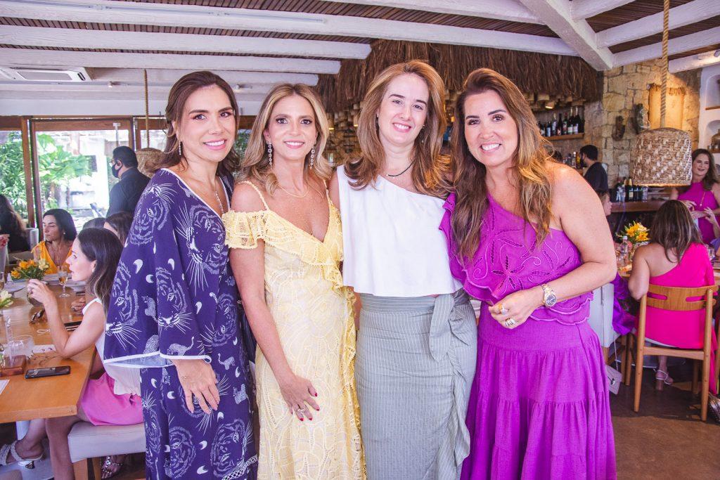 Anne Alcantara, Michelle Aragao, Gisele Castro E Ana Vladia Sales