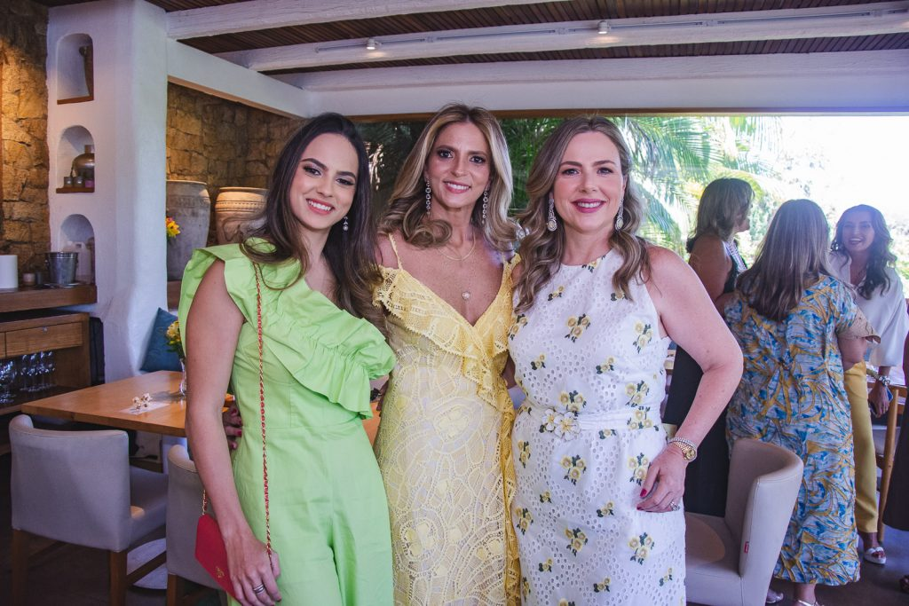 Bianca Aragao, Michelle Aragao E Suyane Dias Branco