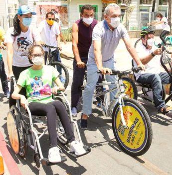 Prefeitura de Fortaleza lança os projetos Bike Sem Barreiras e Rota Acessível
