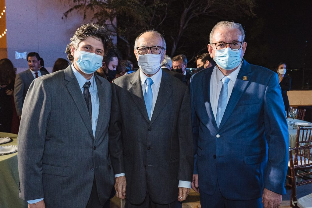 Bruno Girão, Lucio Alcantara E Ricardo Cavalcante