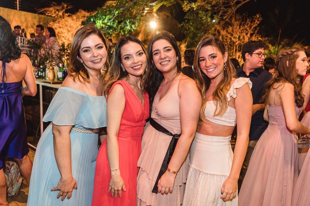 Camila Frota, Isabel Paiva, Lais Frota E Marina Soelho