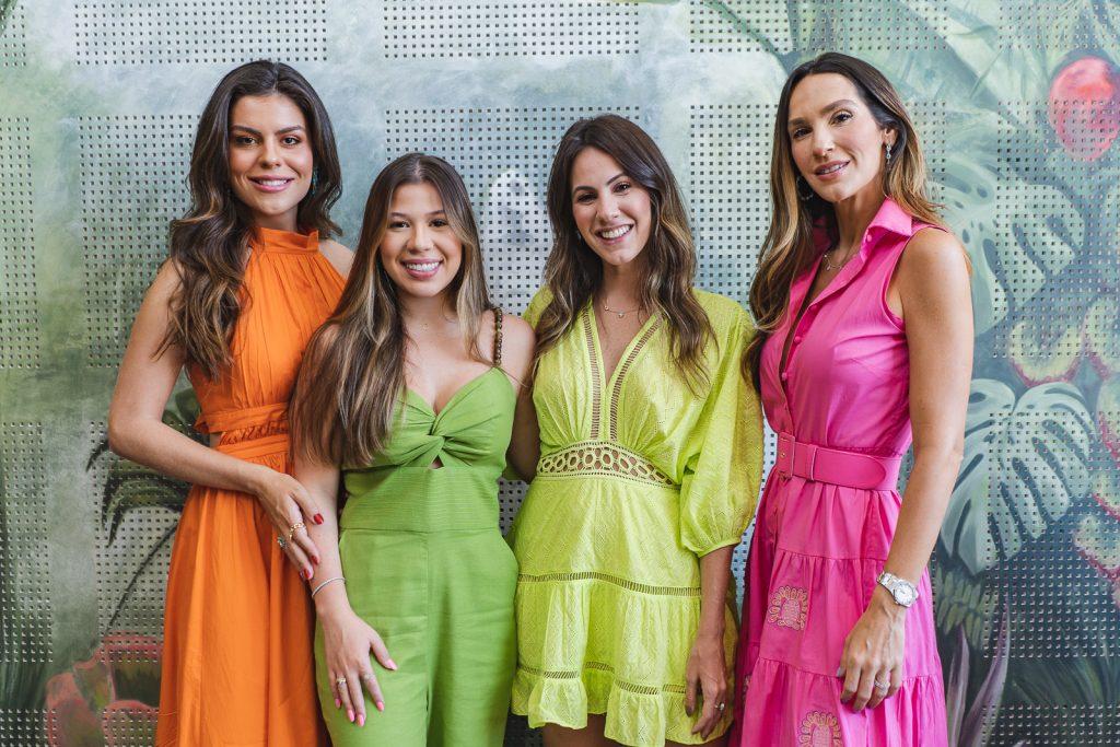 Camila Nogueira, Maria Clara Negrao, Nathalia Brasil E Marcela Turbay