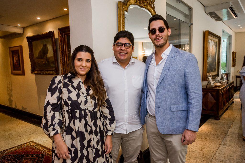Camilla Maia, Prado Neto E Gabriel Dias Branco