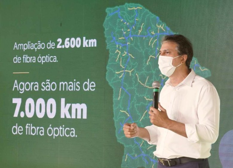 Camilo lança Ceará Conectado ofertando internet gratuita a todos os municípios