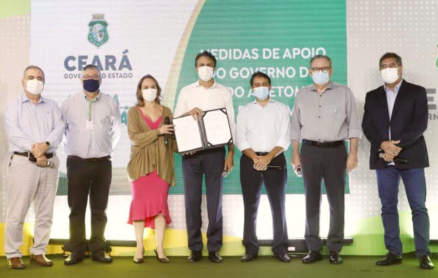 Camilo anuncia Refis para setor produtivo e realiza o lançamento do CearaPar