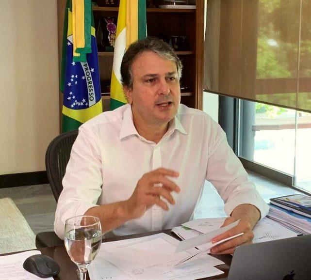 Camilo apresenta projeto Ceará 2050 em evento online realizado pela FAO Brasil