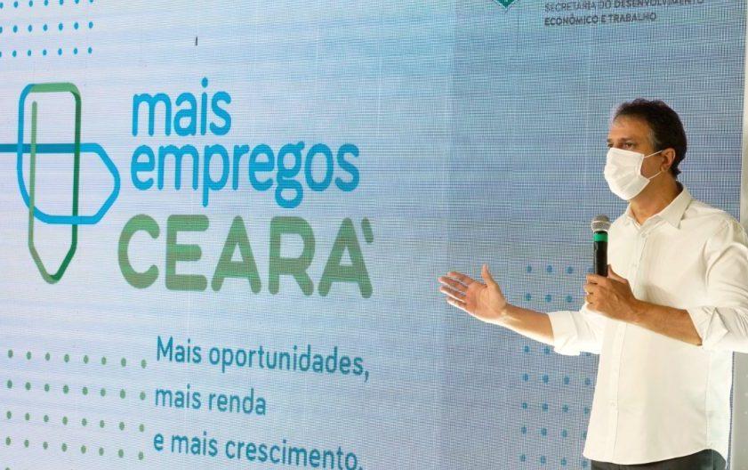 Camilo lança programa Mais Emprego Ceará para gerar 20 mil novas vagas