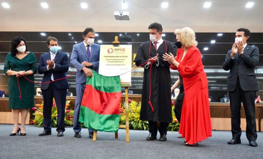 Nova sede do MPCE inaugurada durante prestigiada solenidade no Cambeba