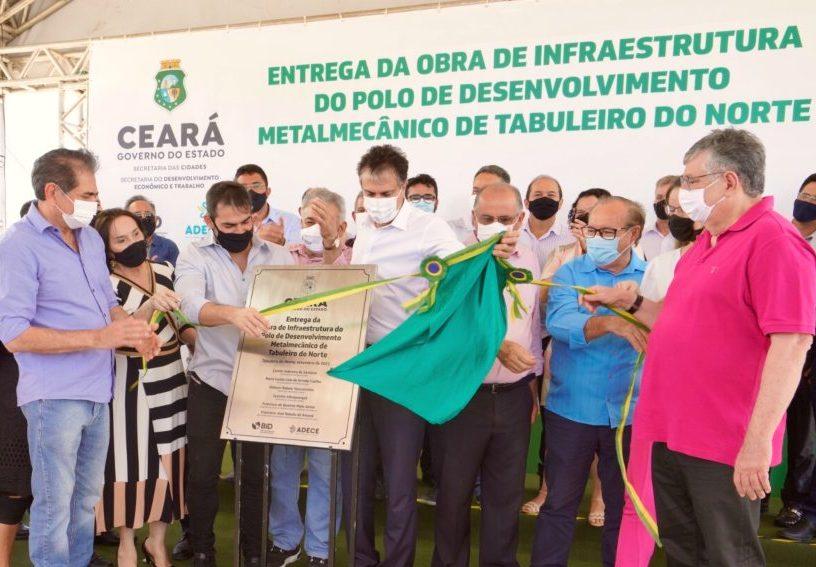 Governo do Ceará entrega primeira fase do Polo Metalmecânico de Tabuleiro
