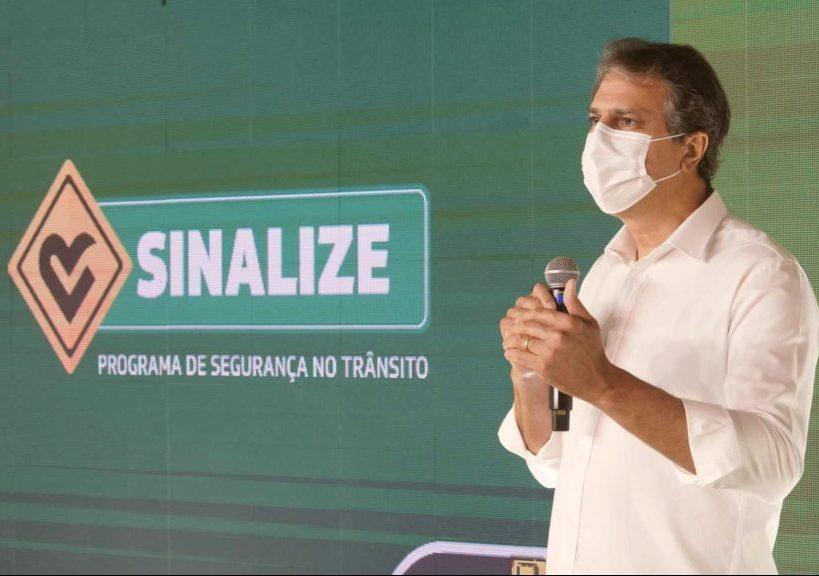 Camilo lança segunda etapa do Sinalize com investimento de R$ 198 milhões