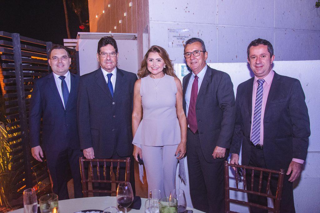 Carlos Nogueira, Ricardo Juca, Marta Farias, Wellington Camelo E Silvio Roberto