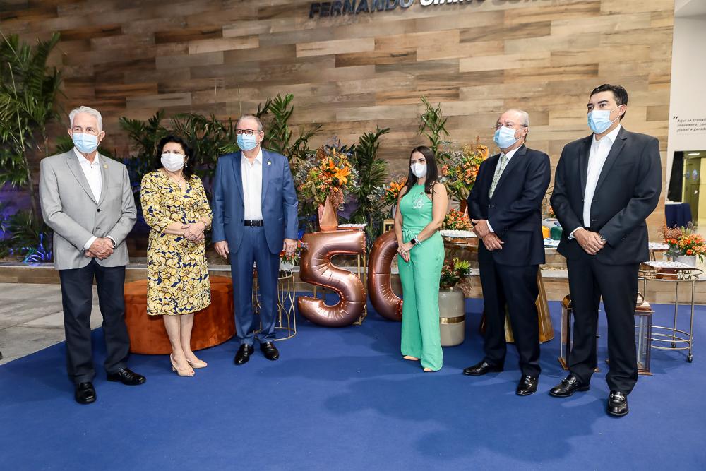 Carlos Prado, Nailde Pinheiro, Ricardo Cavalcante, Dana Nunes, Candido Albuquerque E Junior Castro