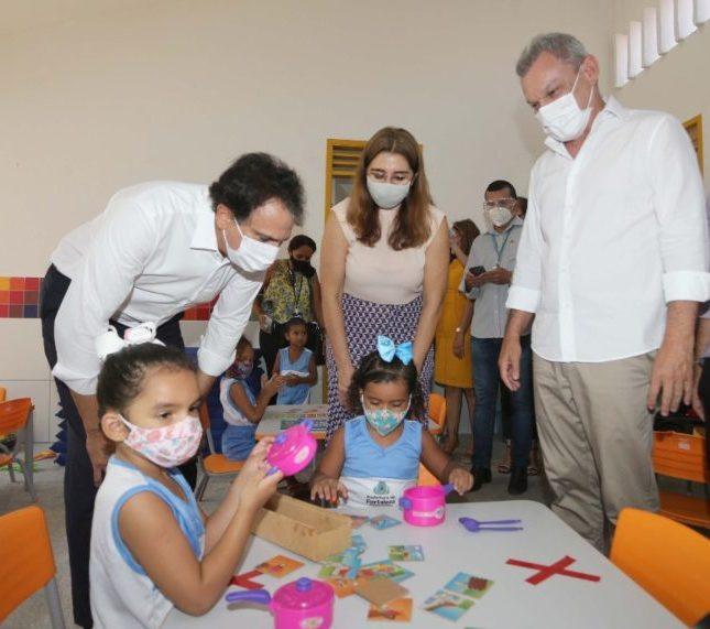 Governo do Ceará e Prefeitura de Fortaleza entregam CEI no Edson Queiroz