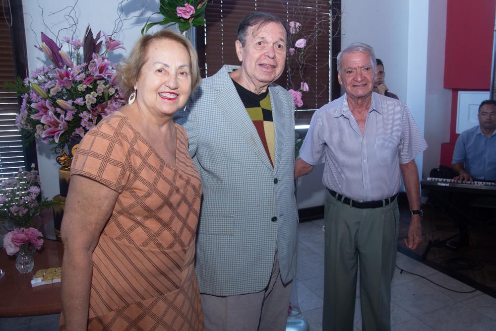 Célia Chiarelli, Flávio Torres E Rafael Chiarelli