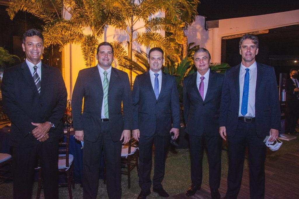 Celso Rocha, Marcelo Pinto, Aelio Silveira, Alfred Cruz E Rui Do Ceara