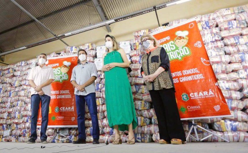 Governo do Ceará e Assembleia vão distribuir 30 mil cestas básicas