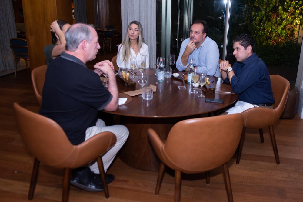 Ciro Gomes, Carmen Rangel, Adriano Nogueira E Pompeu Vasconcelos