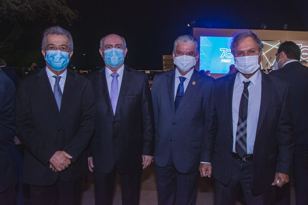 Clovis Rolim, Amarilio Cavalcante, Chico Steves E Ricardo Rolim