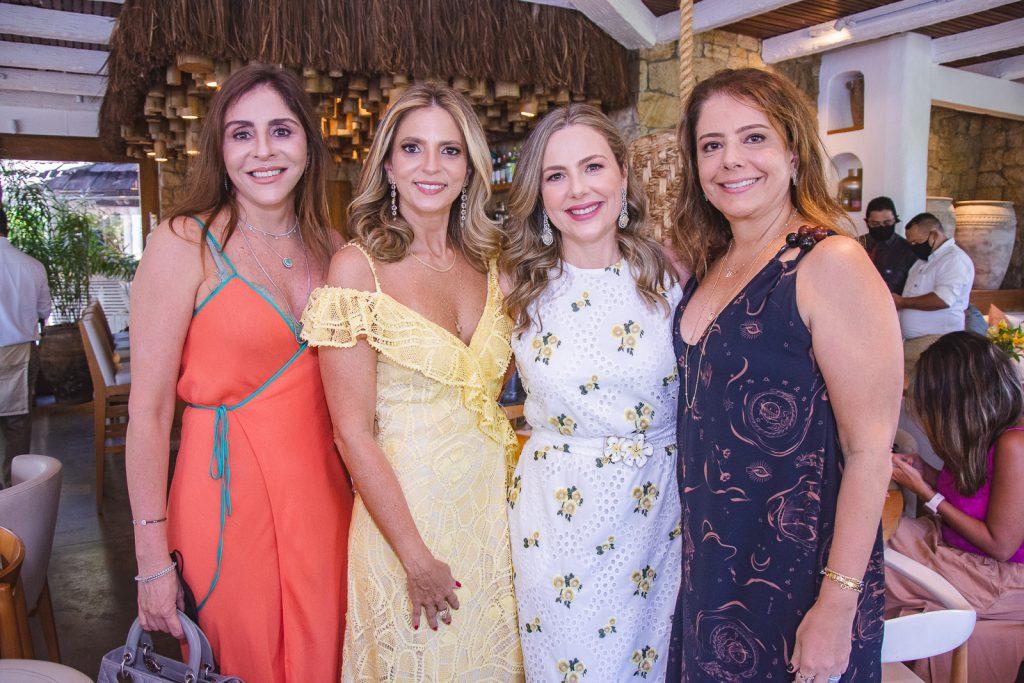 Cristiane Faria, Michelle Aragao, Suyane Dias Branco E Claudia Gradvohl