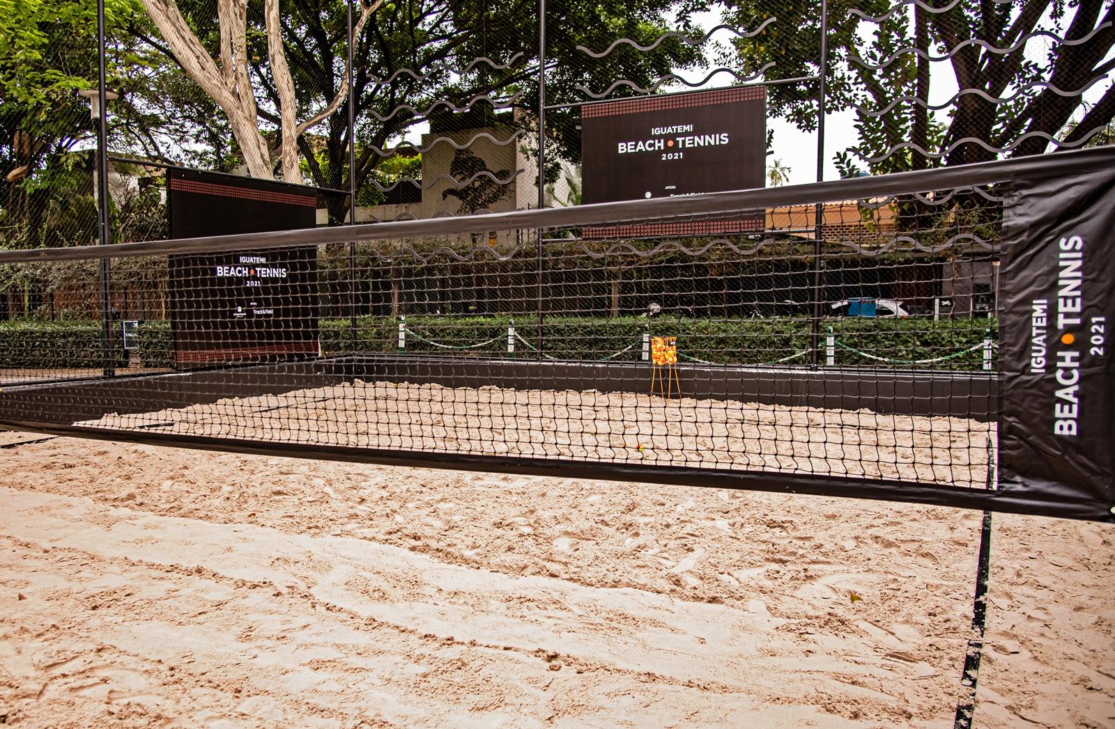 Iguatemi São Paulo realiza a primeira edição do Beach Tennis Iguatemi