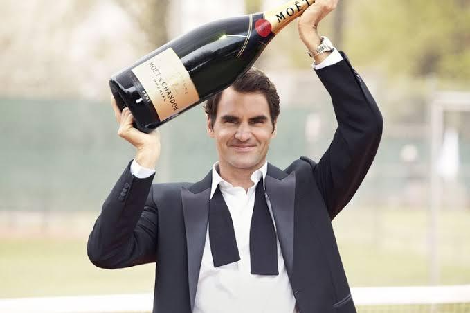 Roger Federer estrela série da Moët & Chandon e apresenta os bastidores da produção da champagne