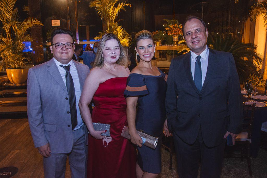 Davi Cavalcante, Liana Cavacalnte, Talita Fermanian, Alexandre Fermanian